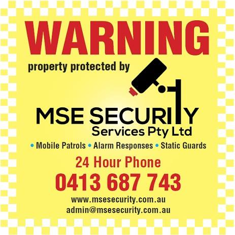 MSE Security Warning